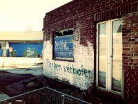 Gelsenkirchen verlassenes Betriebsgelände