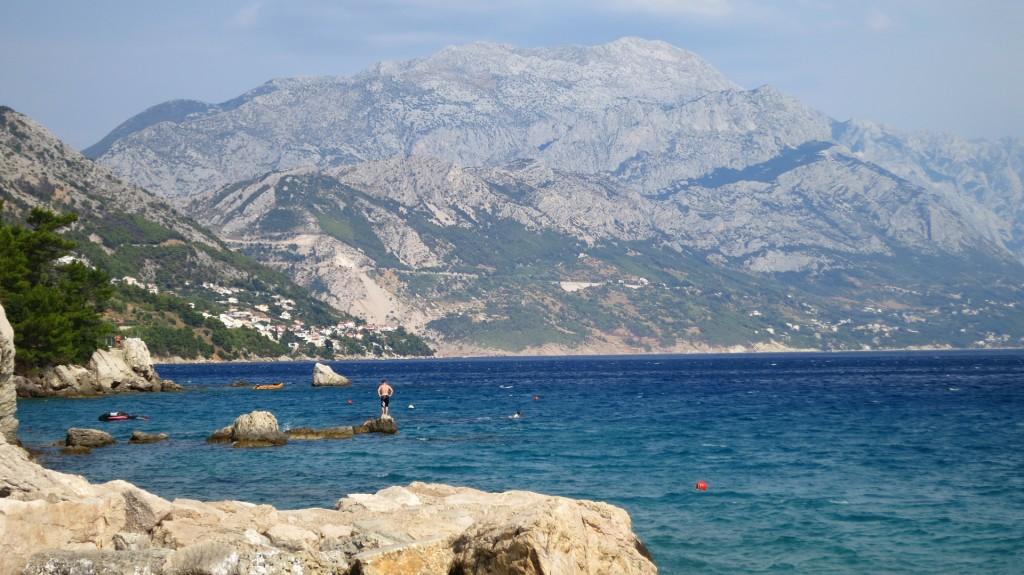 Blick auf die Makarska Riviera