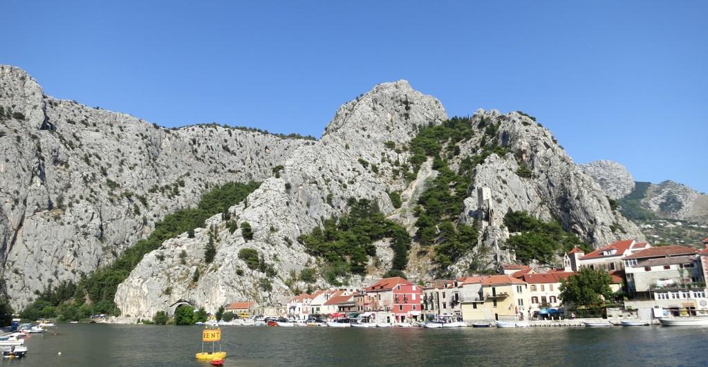 Omis und der Fluss Cetina