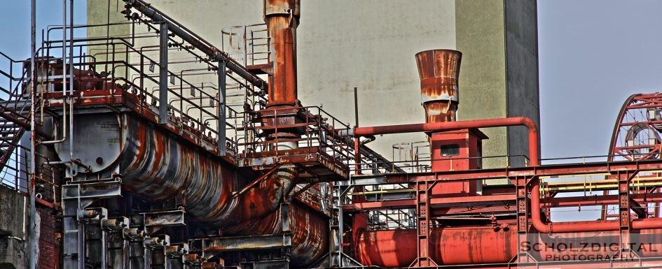 HDR Bild / Aufnahme Kokerei Zollverein