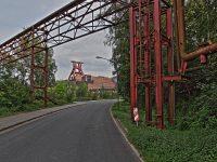 HDR Bild / Aufnahme Förderturm der Zeche Zollverein