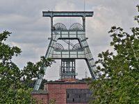 HDR Bild / Aufnahme Förderturm der ehemaligen Zeche Ewald