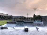 HDR Aufnahme einer Skateranlage in Gelsenkirchen