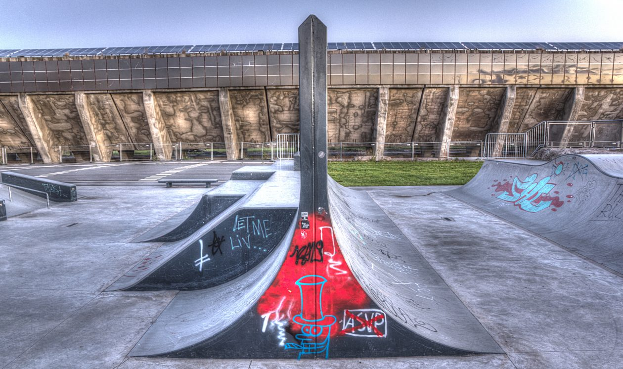 Skateanlage Gelsenkirchen Europastrasse