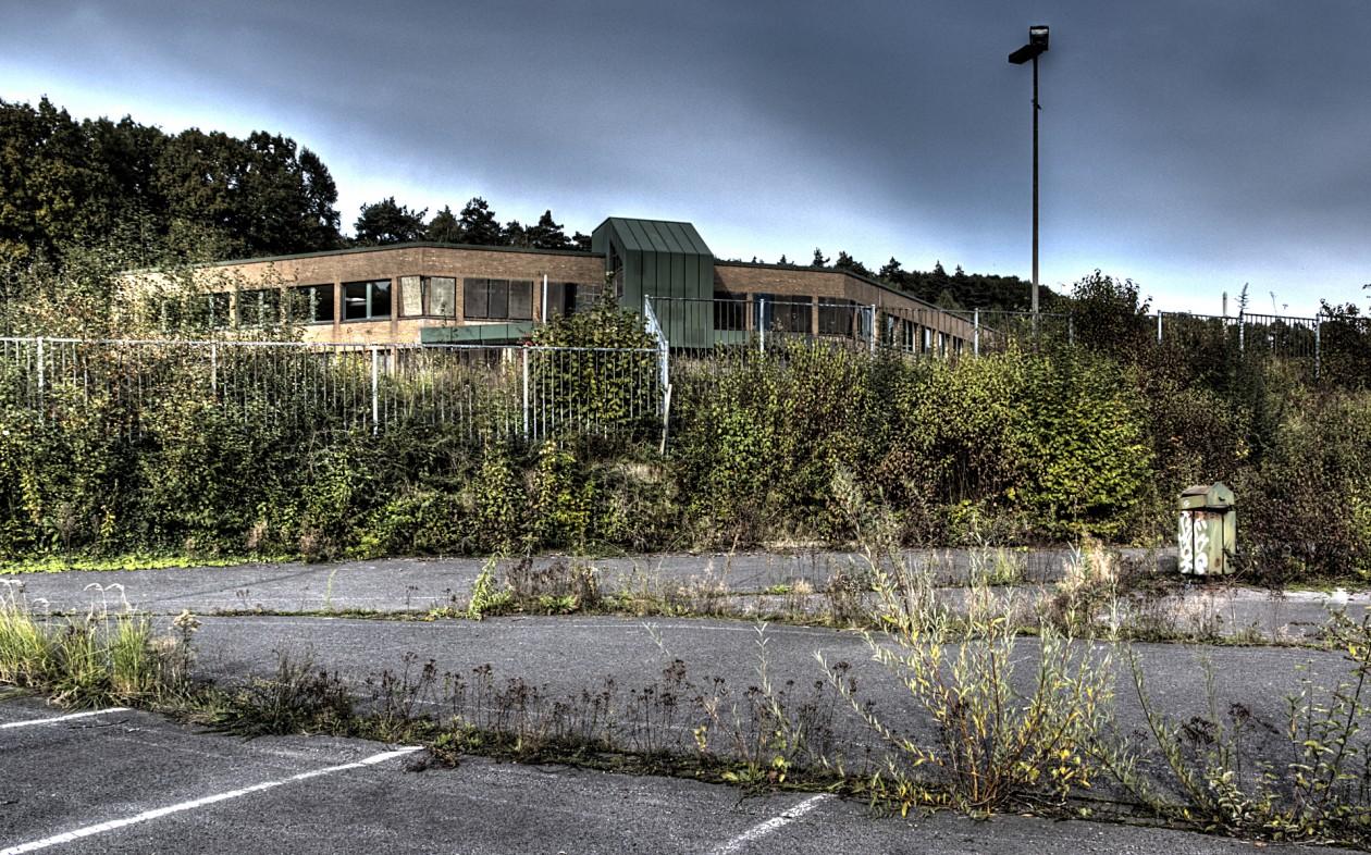 HDR Aufnahme eines ehemaligen Bergwerkgeländes im Ruhrgebiet in NRW - Heute ein echter Lost Place