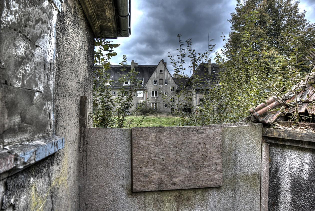 verlassene Siedlung Schlägel und Eisen