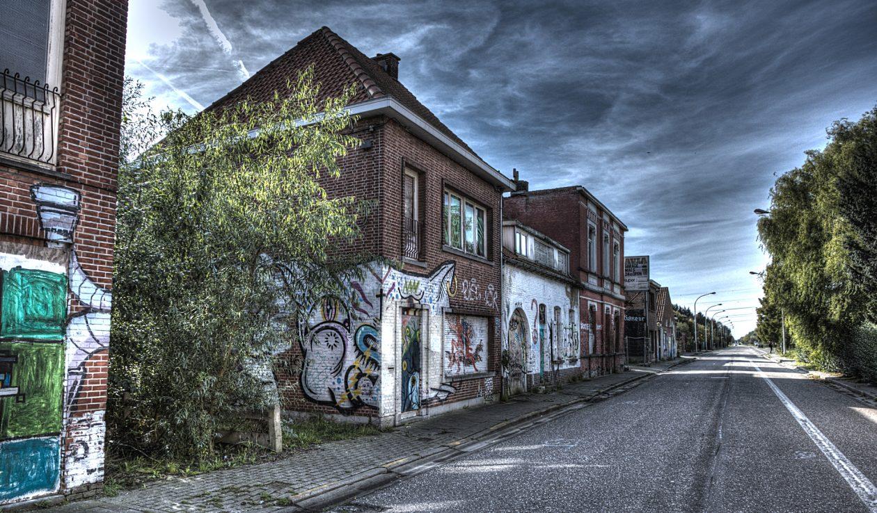 abandoned village