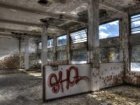 HDR Decay Urban Hospital