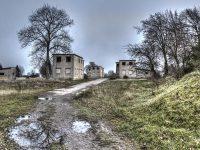 Verlassenes Dorf in der Eifel