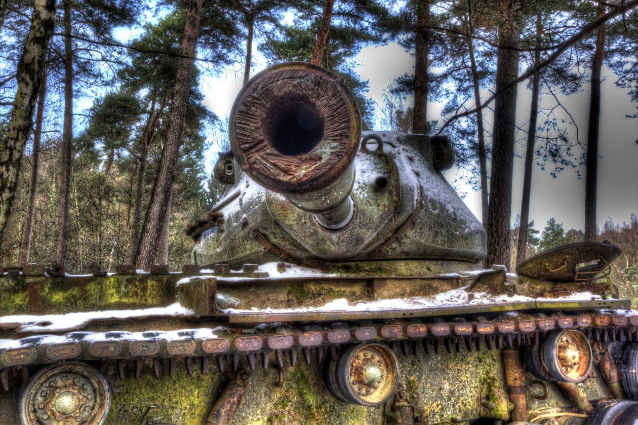 M47 Medium Tank – 90 mm Gun - urbex - verlassene Orte