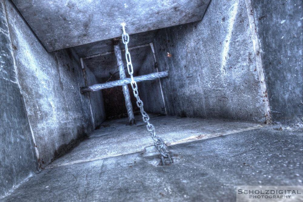 Verlassener Bunker im Munitionsdepot Hünxe - Urban Exploration - urbex - verlassene Orte