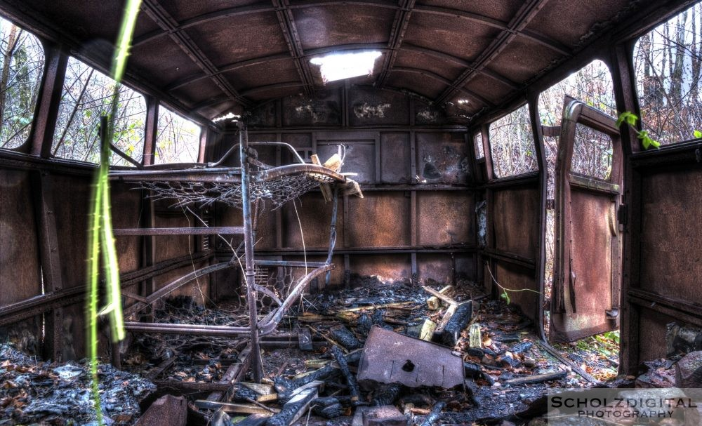 HDR Aufnahmen Lost Place Munitionsbunker Urban Exploration - urbex - verlassene Orte