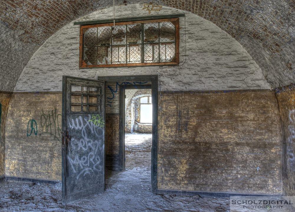 Innerhalb der Kaserne