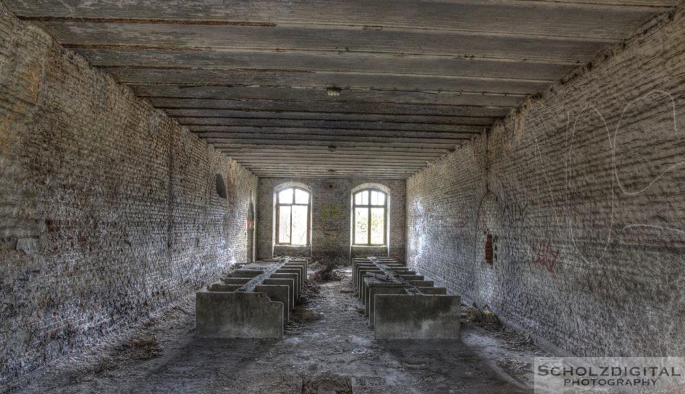 Innenaufnahme der Kaserne