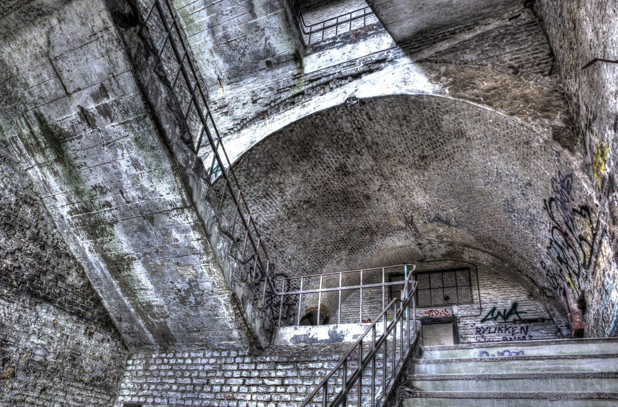 Treppenhaus m Fort de la Chartreuse