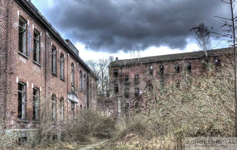 Kaserne in Lüttich (Belgien)