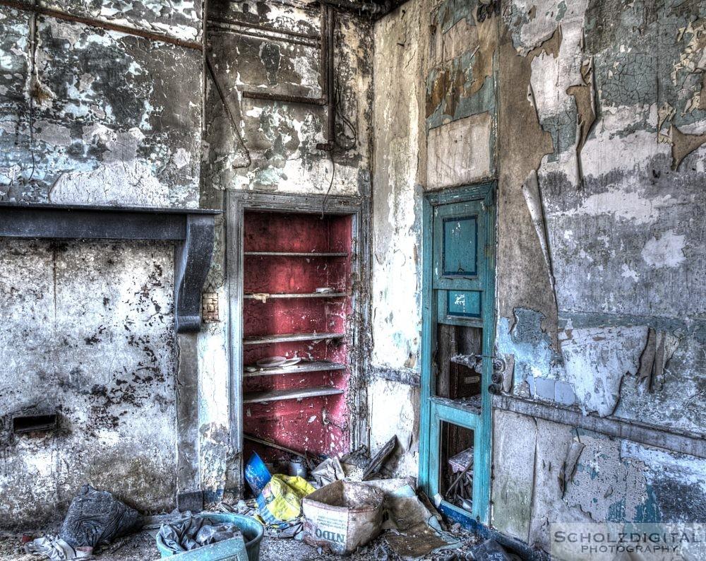 Küche in einem Lost Place