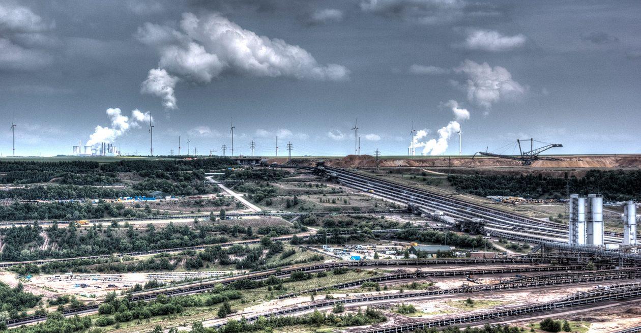 Tagebaugebiet