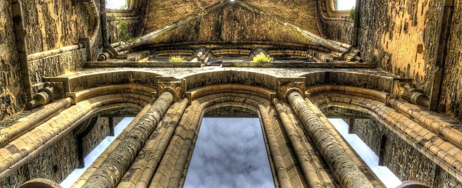 Klosterruine in Belgien