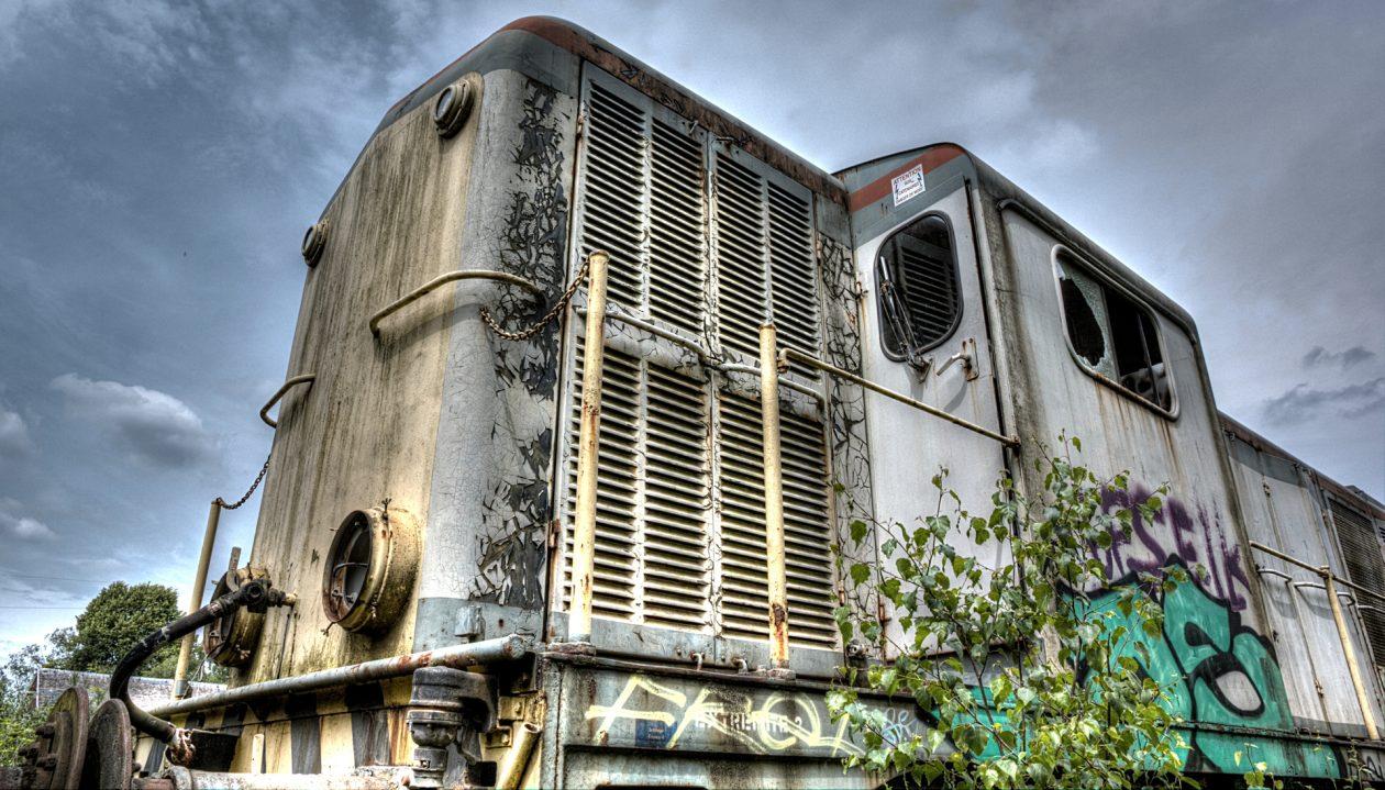 Lost Place - Lokomotive