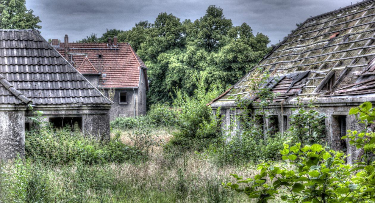 Verlassene Siedlung