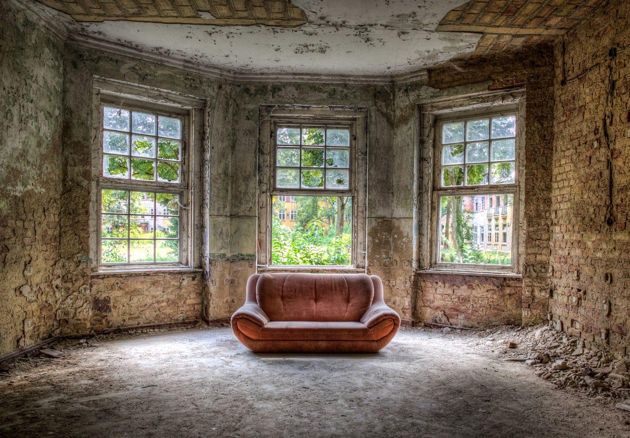 Lost Place - ehemalige Lungenheilstätte