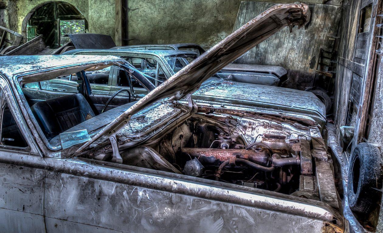 Abandoned Cars - Vauxhall