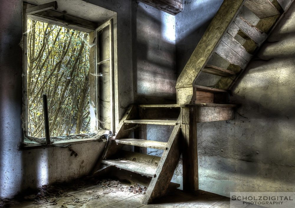 Aufgang zum Obergeschoss