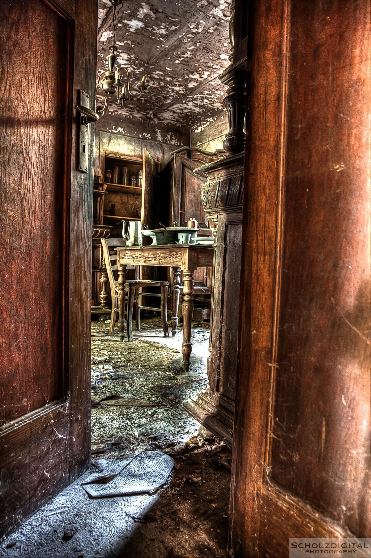 Blick in das Esszimmer der Maison Greiveldinger