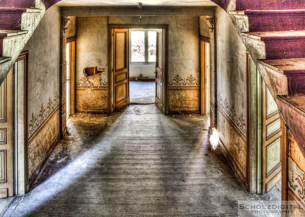 Abandoned Chateau Belgium