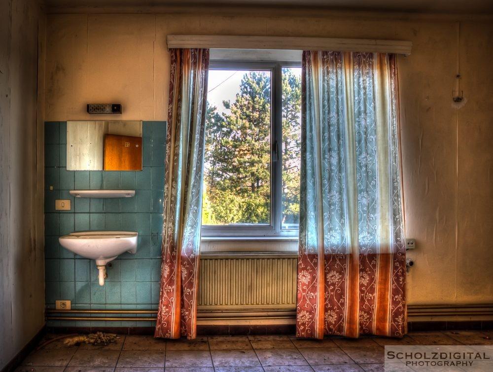Manche Zimmer groß - manche klein ... zumindest fließend Wasser ...