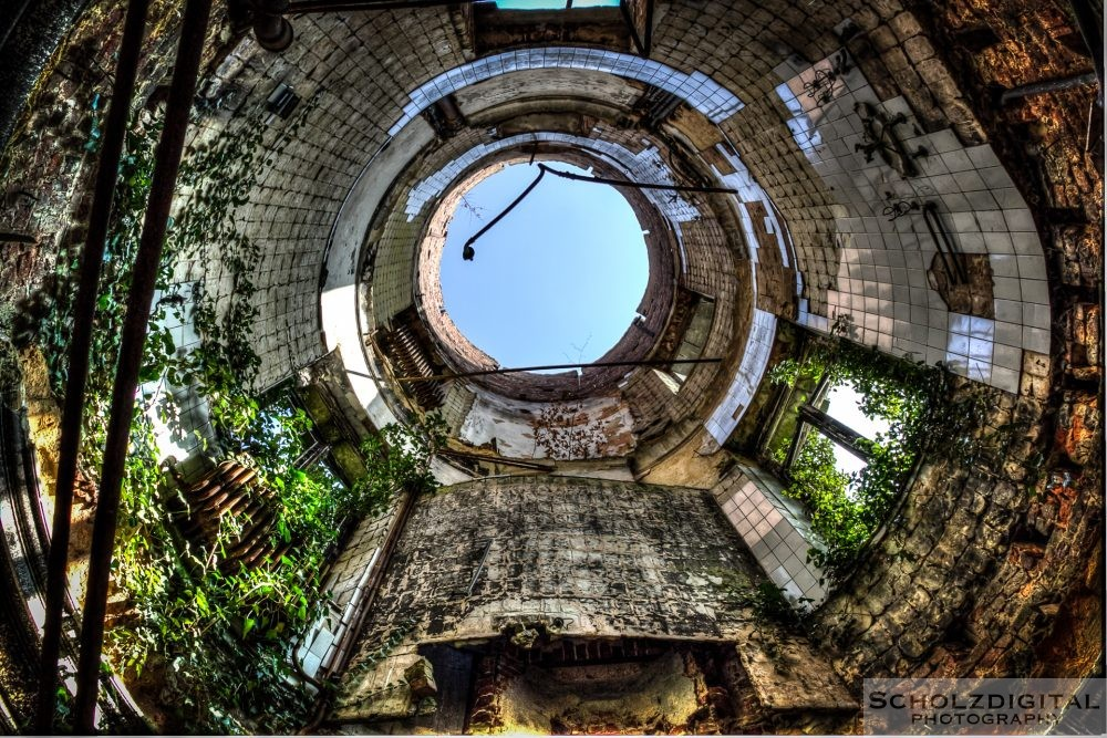 Turm des Schlosses - Ruine