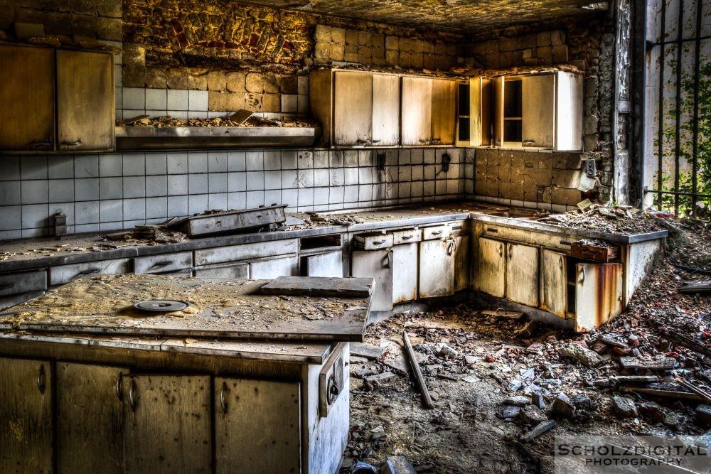 Küche im alten Herrenhaus