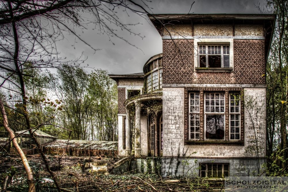 Lost Place in Belgien