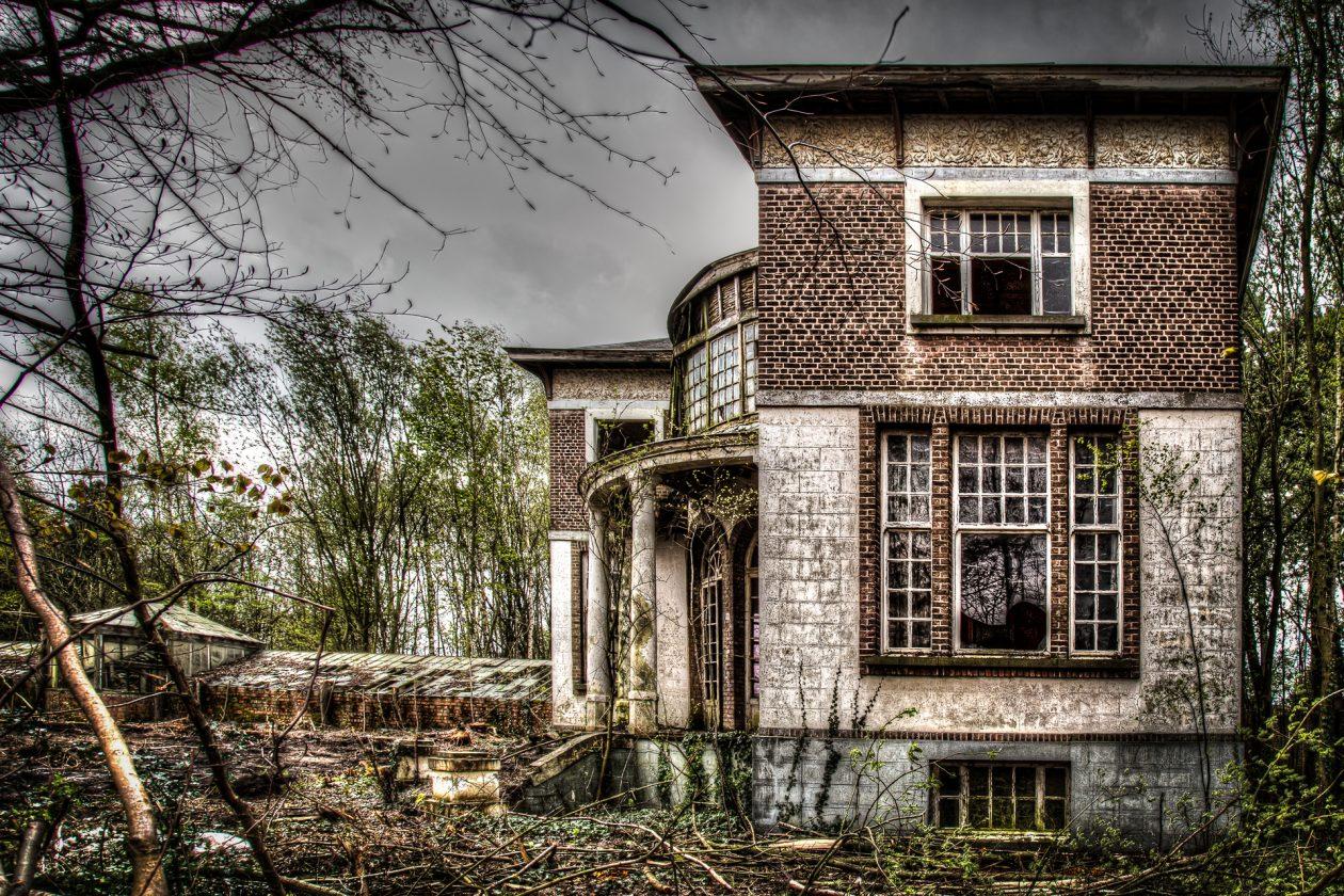 Lost Place in Belgien