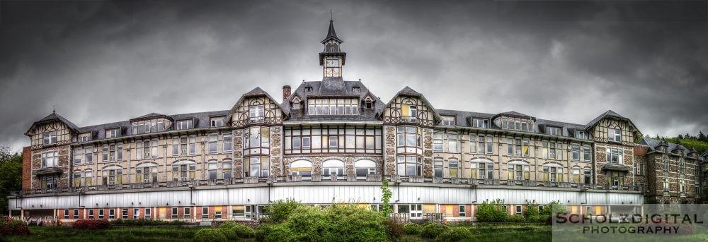 Verlassene Lungenheilstätte in Belgien