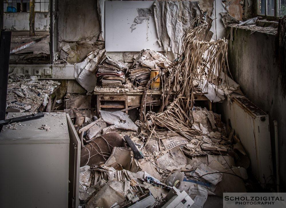 In vielen Gebäuden ist der Verfall weit fortgeschritten