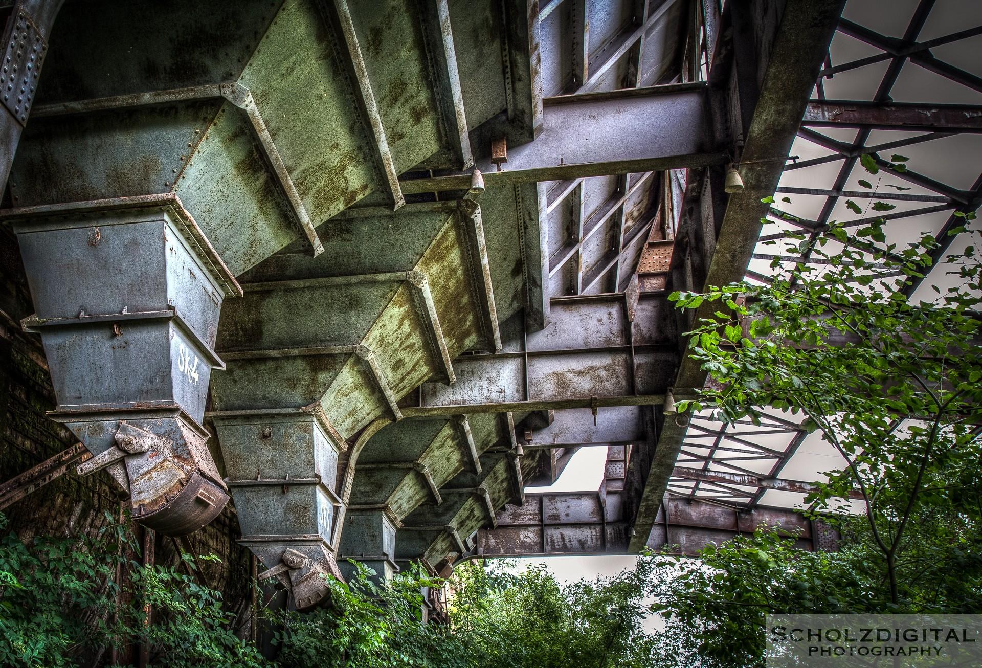 Verlassene Industrieanlage in Luxemburg