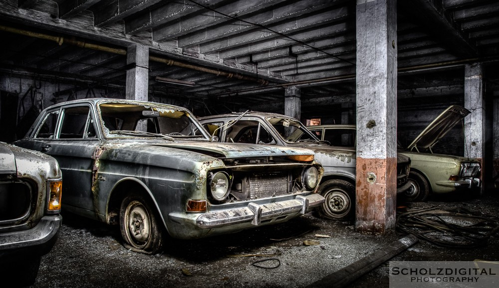 Charbonnage du Renard - Lost Place - verlassene Orte - HDR