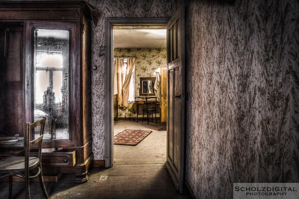 Maison Dave ist ein Lost Place in Belgien. Urbex (urban Exploration)