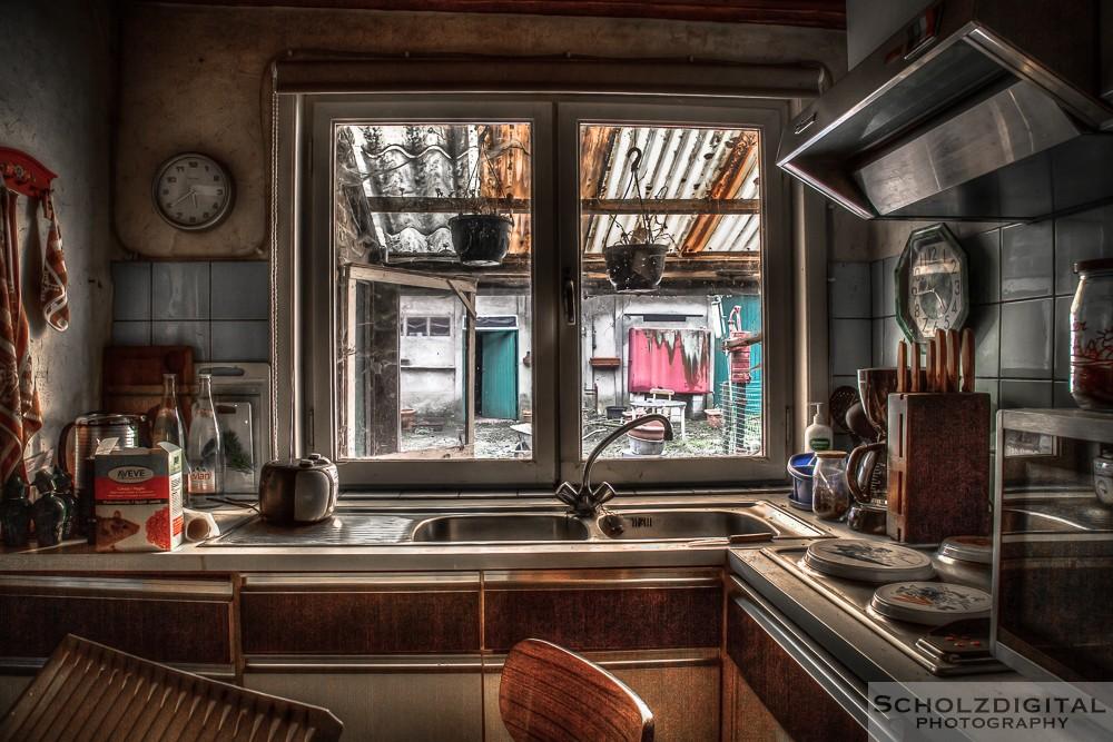 Maison Madam Mokka HDR Urbex Lost Place Belgien