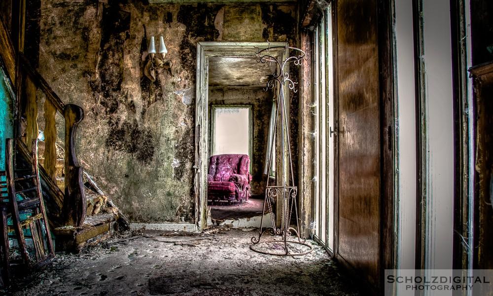 Mold House Urbex Belgien HDR