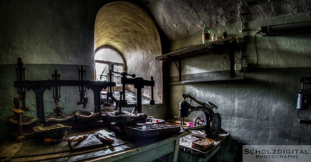 Gefängnis - JVA Prison abandoned Frauengefängnis