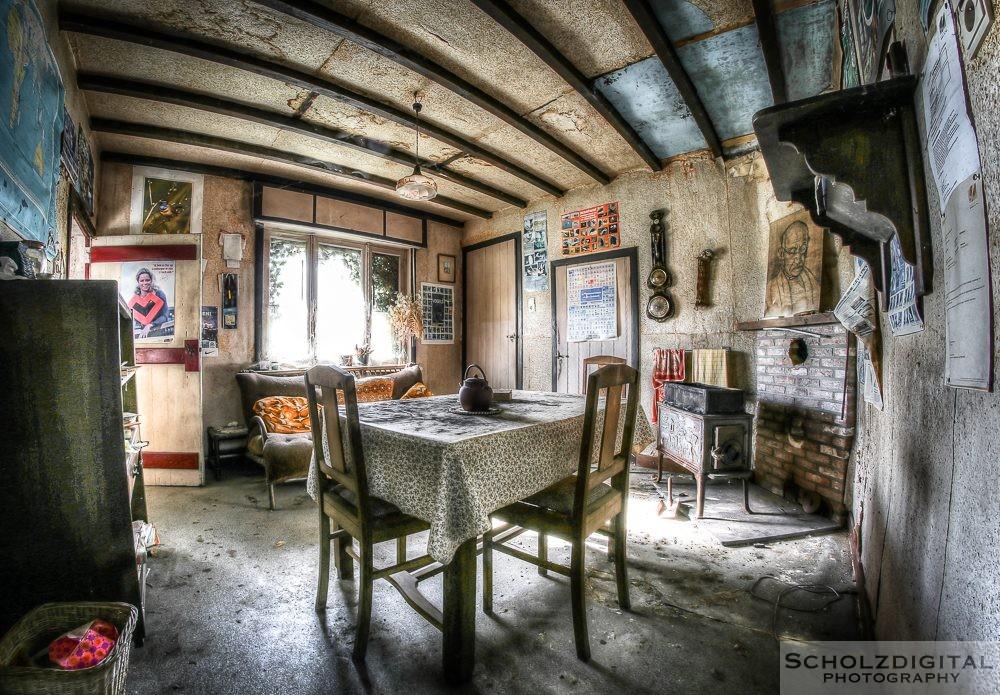 Maison Gandhi - Urbex - Lost Place Belgien