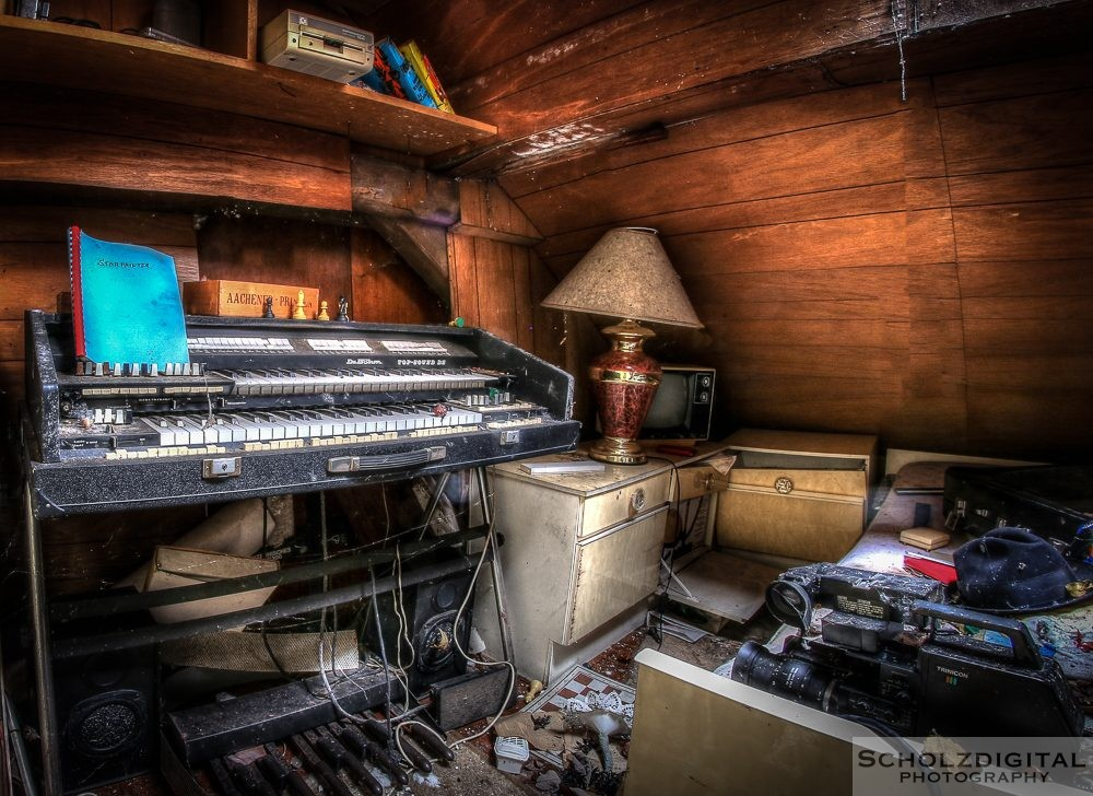 House of Organs - Urbex - Lost Place