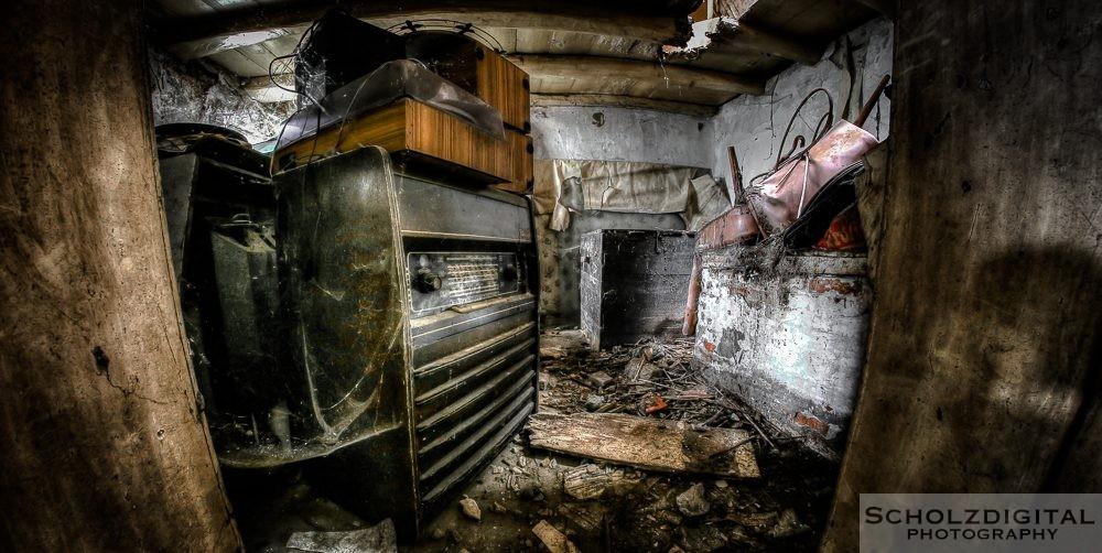 Ferme des Trous verlassener Bauernhof
