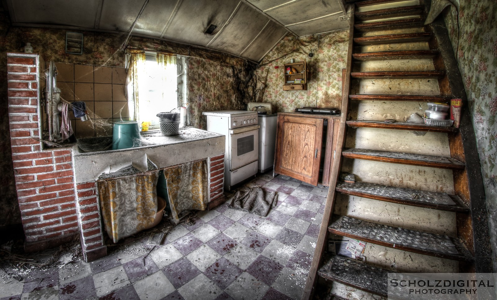 Maison Schimmelpenninck - verlassener Bauernhof in Belgien - Lost Place Urbex
