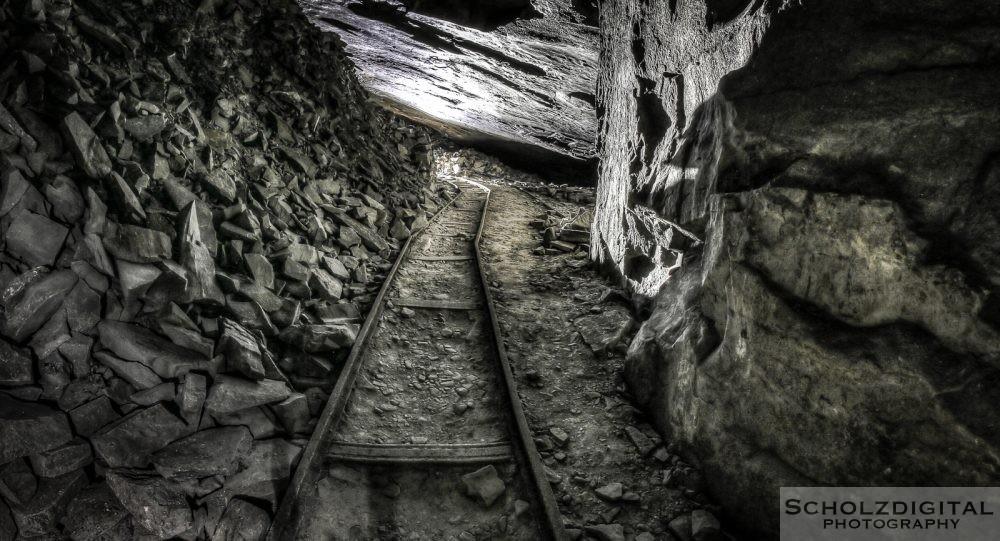 Indiana Jones Bergwerk verlassene Mine in Belgien Urban exploration