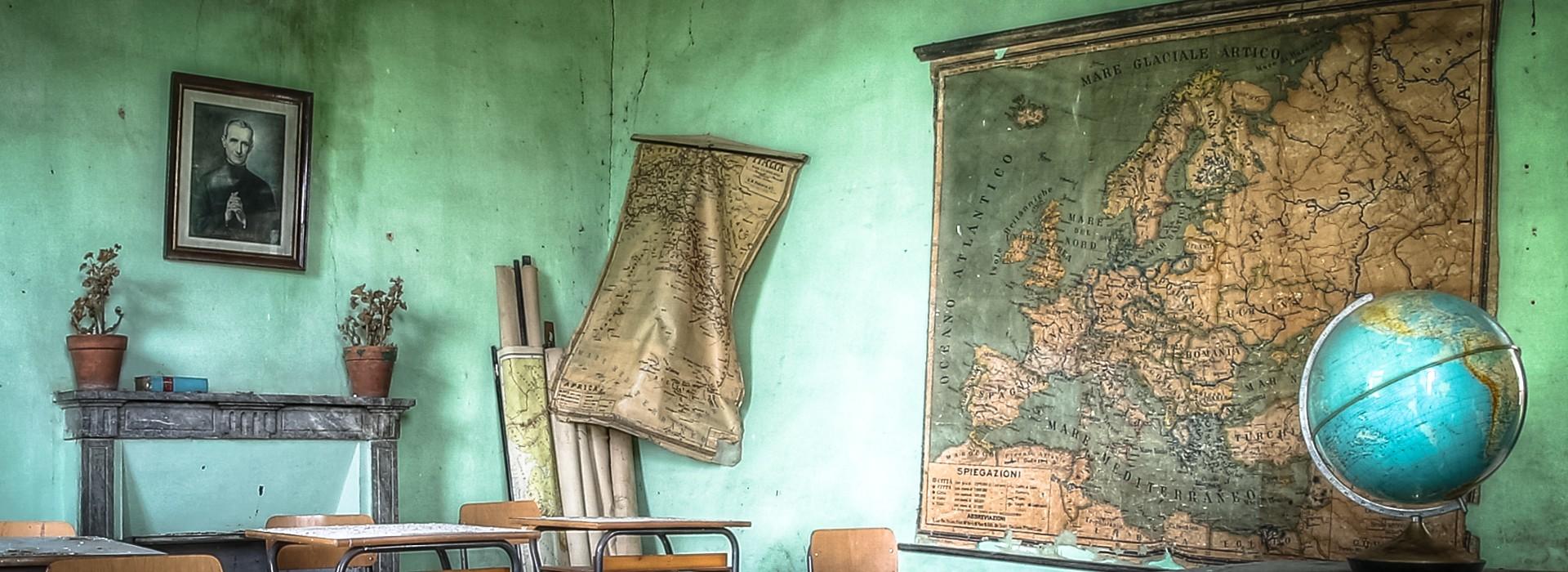 Lezione di Geografia Urbex Italien
