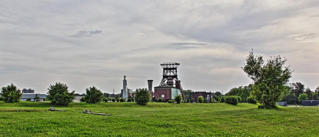 HDR Aufnahme Consol Park in Gelsenkirchen Bismarck